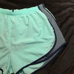 Mint Nike Shorts